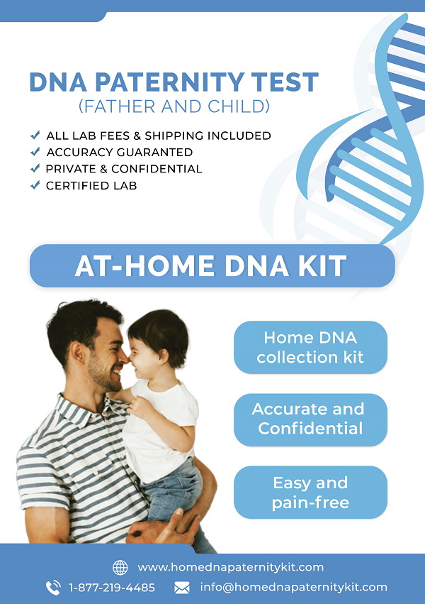 At Home Paternity Collection Kit